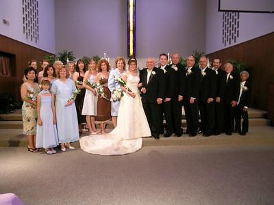 SUSAN & STEVE SKOMMESA'S WEDDING @ HERMON CHURCH • 04.23.05
