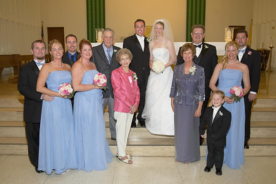 2005 James Williams and Amanda Collins Wedding