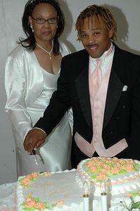 Charles & Phyllis Knox Wedding.