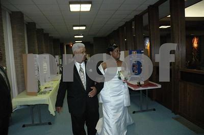 Denise's wedding.