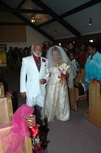Robert and Gernice  Jones wedding.