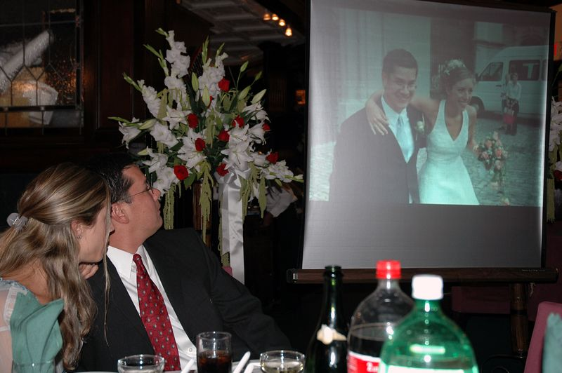 The slideshow of foreign wedding.
