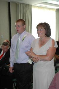 Smith/Brimer Wedding Wedding Reception.  Saturday August 5, 2006.