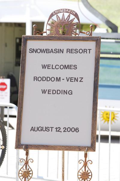 08-12-2006 Rusti and Jared Wedding