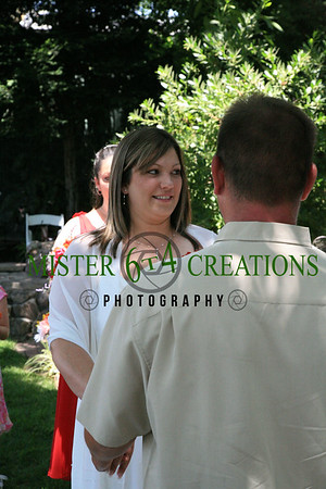Josh & Marcie Johnson - July 8, 2006