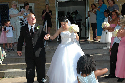 The Yolanda & Travis Wedding Reception. Wichita, Kansas. 07-07-07