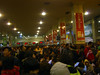 unfortunately, it was peak travel season and just this arm of the monstrous train station was full of people in Xi'an