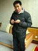 Li Wei getting ready
