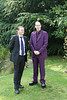 Groom and 'Best Man' (Duncan and Jon)