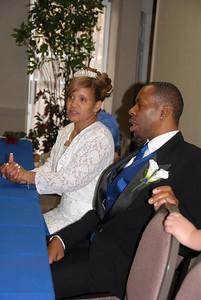 "Reuben & Deborah Sharp Wedding Reception at ""the Center""  OKC, OK."