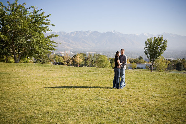 Megan and Ryan 4 Seasons Engagements