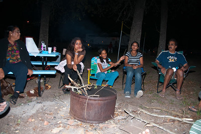 2009-03-Lake-Livingston-Camp-Site