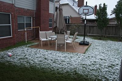 2009 - 12 - Family - Snow in Houston