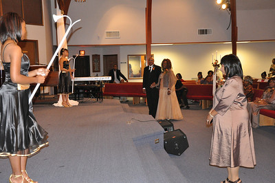 Wedding Ceremony of Sparks & Ellis Oct 24, 2009