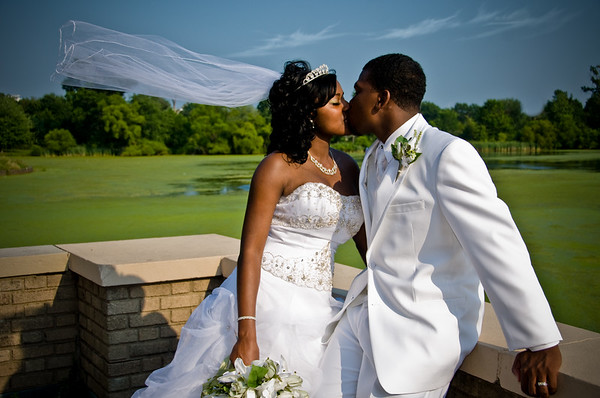 Kisha and Terrell-Wedding