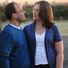 Kristin Loso and Brian Poole are photographed at St. Edwards University in Austin, Texas at sunrise on Saturday, October 30, 2010.  Brian proposed to Kristin just weeks earlier at the same location.