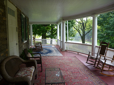 front porch of Mansion House