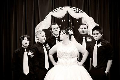 Wedding053b&w