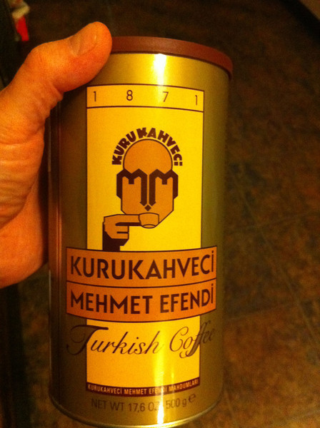 best Turkish coffee - follow directions to get the perfect cup of Turkish coffee