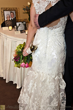 The wedding of Amber Moore and Ryan Mocarski at the La Scala Italian Bistro in Dublin, Ohio Saturday March 26, 2011.  Reception held following the ceremony at La Scala.  Formal photos taken at downtown Dublin. (Photo © James D. DeCamp | 614-367-6366 | http://www.OurDreamPhotos.com)