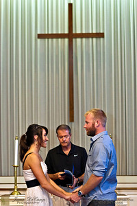 The rehearsal of the marriage of Lauren Stets and Andrew LaFollette Friday afternoon August 19, 2011 held at the Central College Presbyterian Church. (© James D. DeCamp • http://OurDreamPhotos.com • 614-462-8027)