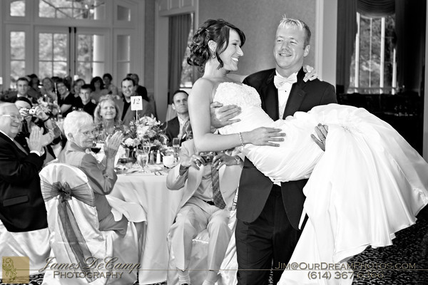 The marriage and reception of Lauren Stets and Andrew LaFollette Saturday August 20, 2011 with the wedding ceremony held at the Central College Presbyterian Church and reception at the Winding Hollow Country Club. (© James D. DeCamp • http://OurDreamPhotos.com • 614-462-8027)