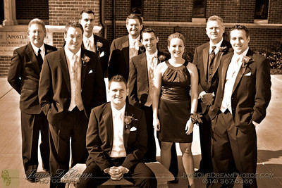 Formal photos taken during the wedding of Karen Simmons and Tyler Alexander held Saturday October 22, 2011 at the St. Paul's Catholic Church in Westerville, Ohio. (© James D. DeCamp | http://OurDreamPhotos.com | 614-367-6366)