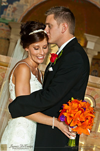 Formal photos taken during the wedding of Karen Simmons and Tyler Alexander held Saturday October 22, 2011 at the St. Paul's Catholic Church in Westerville, Ohio. (© James D. DeCamp   http://OurDreamPhotos.com   614-367-6366)