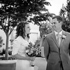 Groom sees the bride for the very first time in her wedding dress. Taken at the Timpanogos Temple