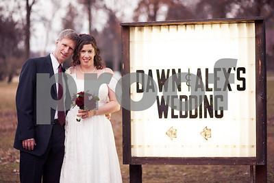 Dawn & Alex - Enhanced Photos - 12.1.12