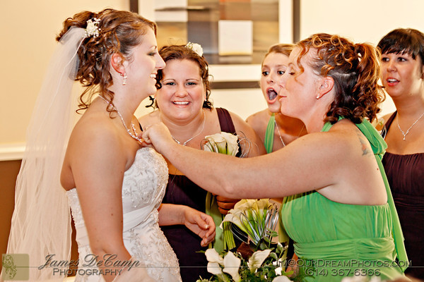 The marriage and reception of Nicole Cornwell and Chad Cox held Saturday May 19, 2012 at the Creekside Conference & Event Center. (© James D. DeCamp | http://OurDreamPhotos.com | 614-367-6366)