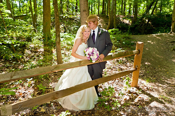 Wedding formal photos of Annie Busher and Aaron Powell photographed Saturday afternoon June 9, 2012 at Pine Quarry Park in Reynoldsburg. (© James D. DeCamp | http://OurDreamPhotos.com | 614-367-6366)