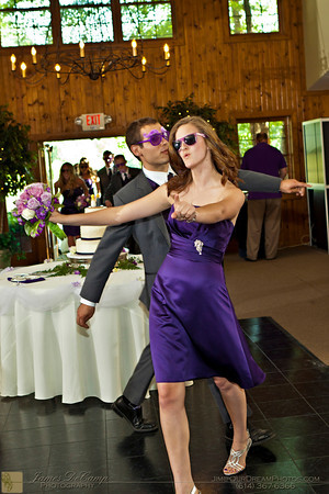 The wedding reception of Annie Busher and Aaron Powell held Saturday June 9, 2012 at the Hickory Lakes Event Center in Pickerington, Ohio. (© James D. DeCamp | http://OurDreamPhotos.com | 614-367-6366)