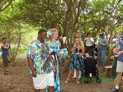 20120812 Team Zebra Wedding