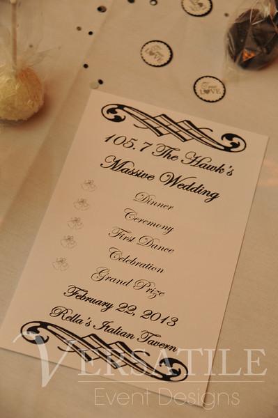 2.23.13 The Hawk Massive Wedding 105.7