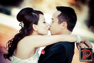 Nikki (Truong) and Trung Pham 10-19-13