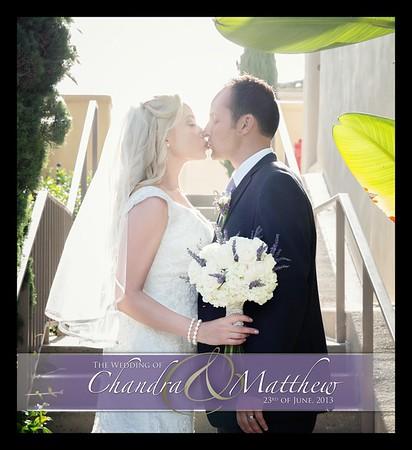 Wedding Album of Matt & Chandra