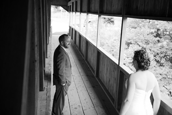 Karen & Bryon:  First Look & Portraits