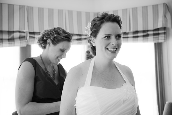 Karen & Bryon:  Getting Ready