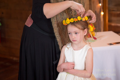 Reluctant Flower Girl
