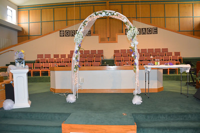 Leonda & Carl McPhaul Wedding Day Aprill 11, 2015