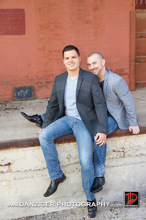 Aaron (Petty) and Trevor Wood engagement 3-22-15