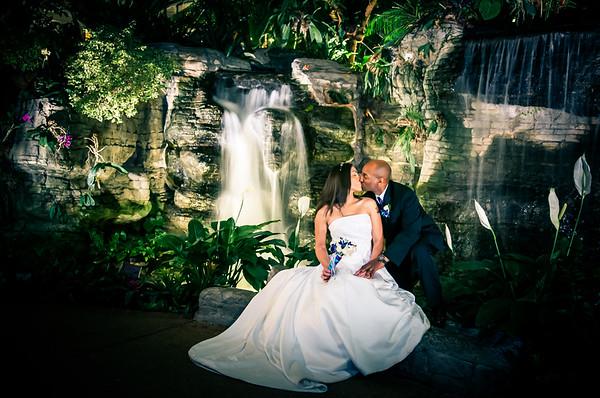 Lauren and Melvin Wedding