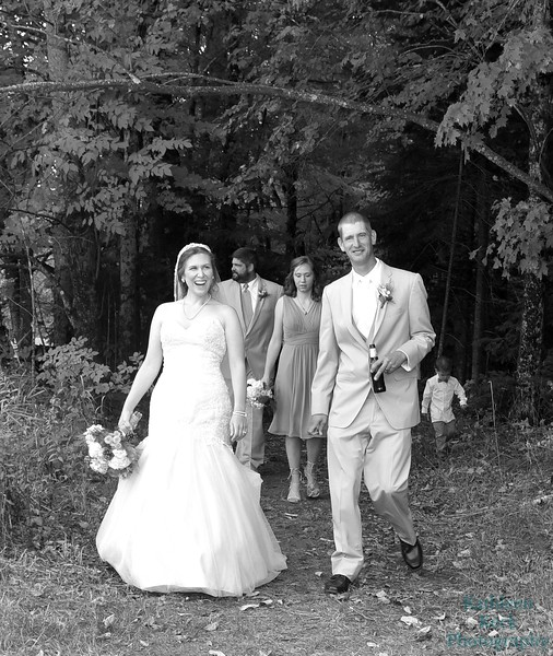 10-1-16 Shannon and Jason Walking Trail  (23) crop bw