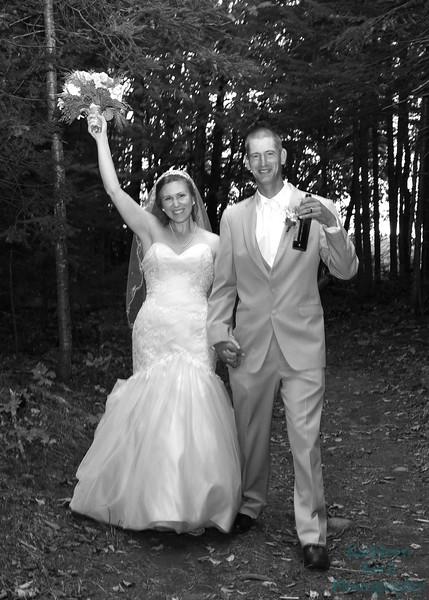10-1-16 Shannon and Jason Walking Trail  (140) bw