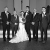 9-30-17 K and R Wedding and Group Photos (257) bw