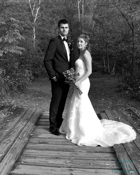 9-30-17 K and R Wedding and Group Photos (338) bw