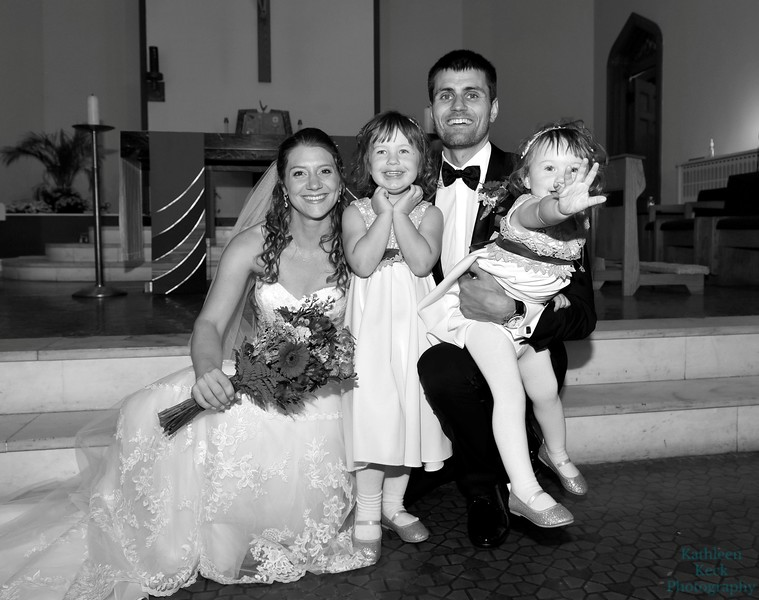 9-30-17 K and R Wedding and Group Photos (247) bw