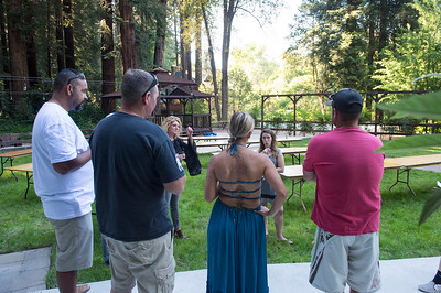 Wedding Rehearsal of Robin & Blair at Fern River Resort