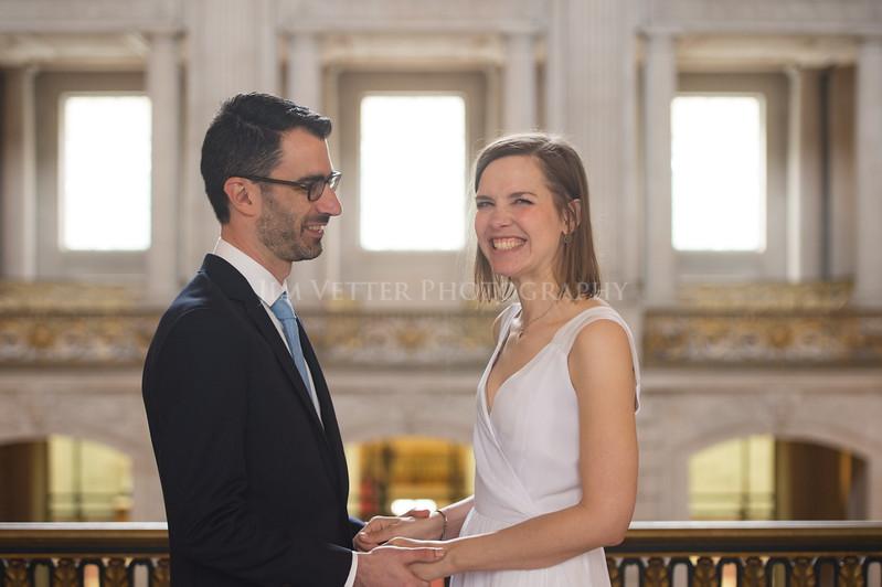 0116_Stephanie John SFCityHall Wedding